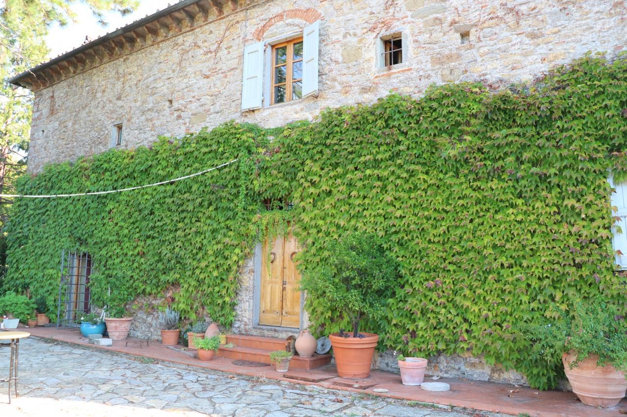 villa vendita pontassieve santa brigida fornello